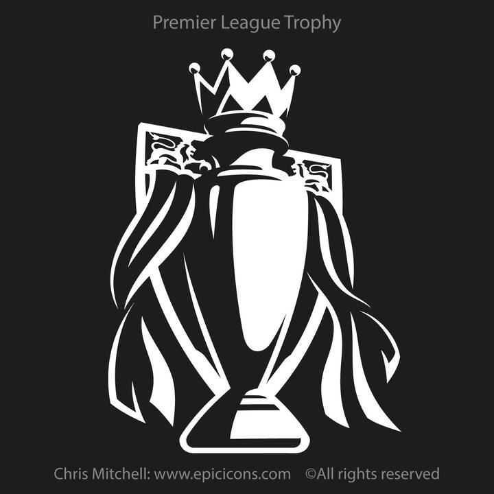 2550 Premier League Trophy Reversal 1200