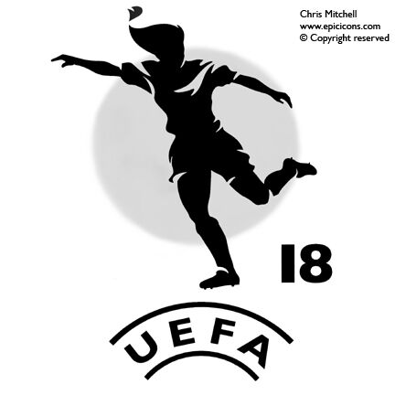 UEFA Womans Football Logo