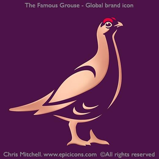 Famous Grouse Brand Logo