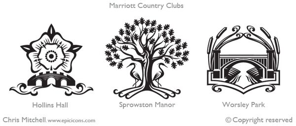 Marriott Country Clubs UK Brand Logo