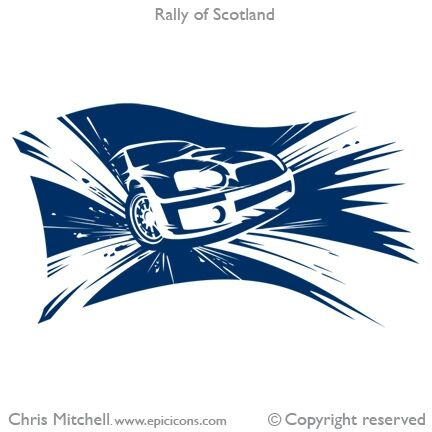 Rally of Scotland Brand Logo