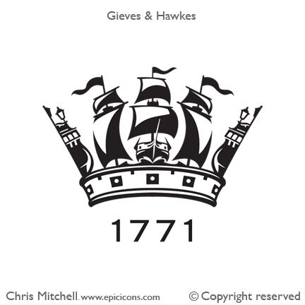 Gieves & Hawkes Crown Brand Logo