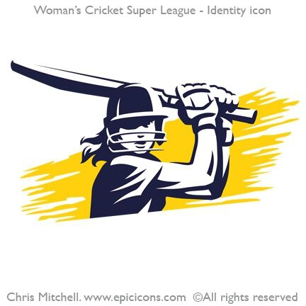 Woman's Cricket Super League Logo