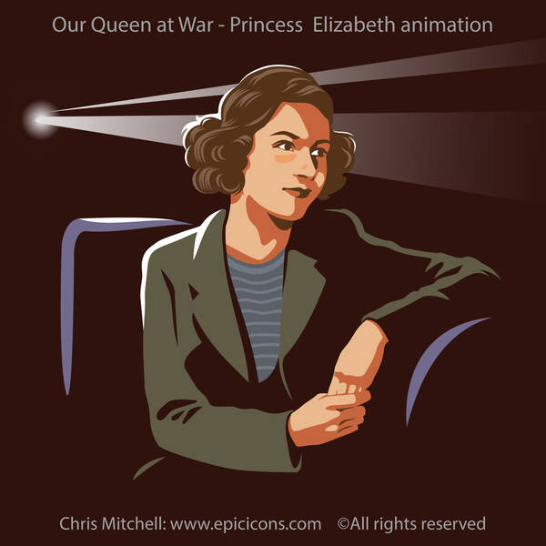 Our Queen at War, Princess Elizabeth animation