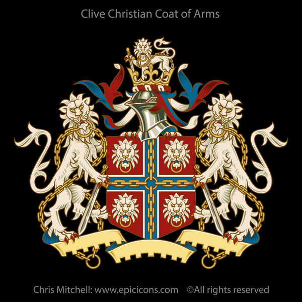Clive Christian Coat of Arms Brand Identity