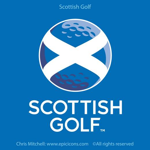 Scottish Golf Brand Logo