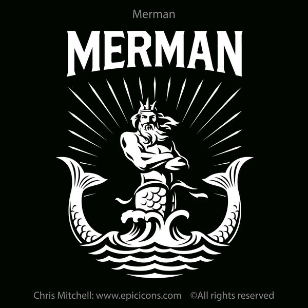 Merman brand logo