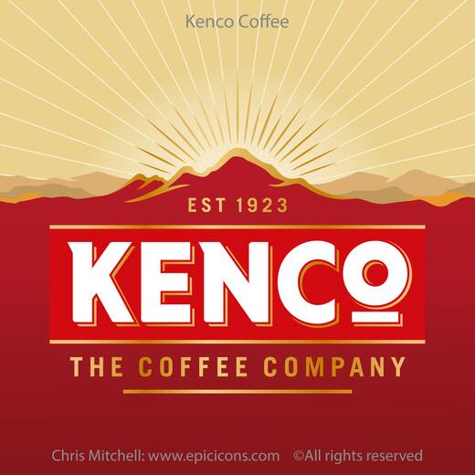 Kenco Coffee Brand logo