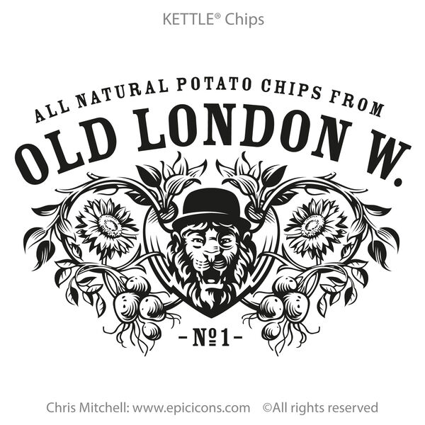 Old London Brand Logo