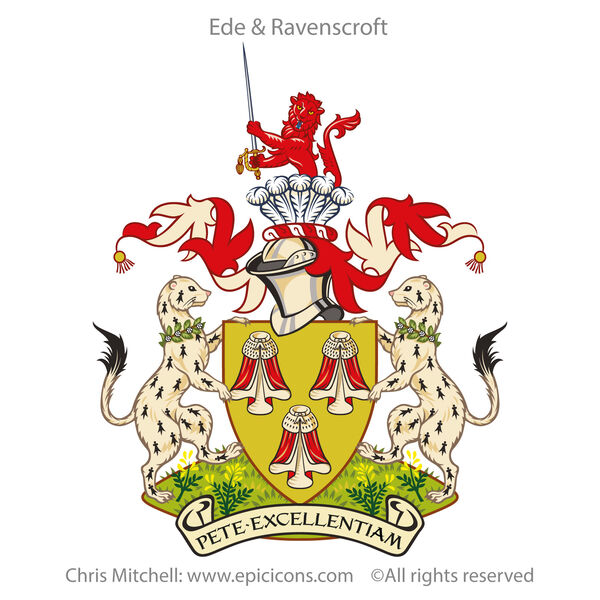 Ede Ravenscroft Crest