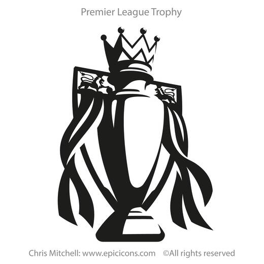 Premier League Trophy Brand logo