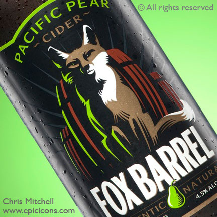 Fox Barrel Cider. Rebrand