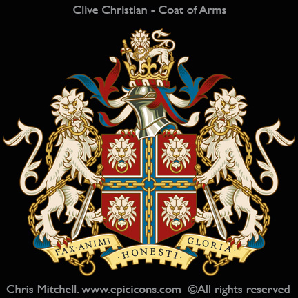 Clive Christian. Coat of Arms